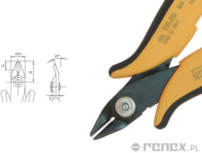 Obcinaczka TR-25 (średnica: 1,30 mm AWG: 16)