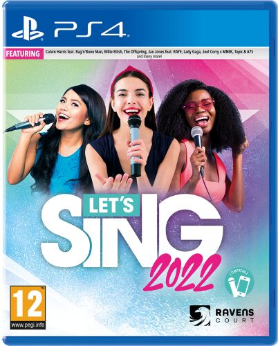 Let''s Sing 2022 PS 4