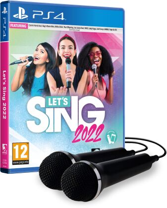 Let''s Sing 2022 + 2 mikrofony PS 4