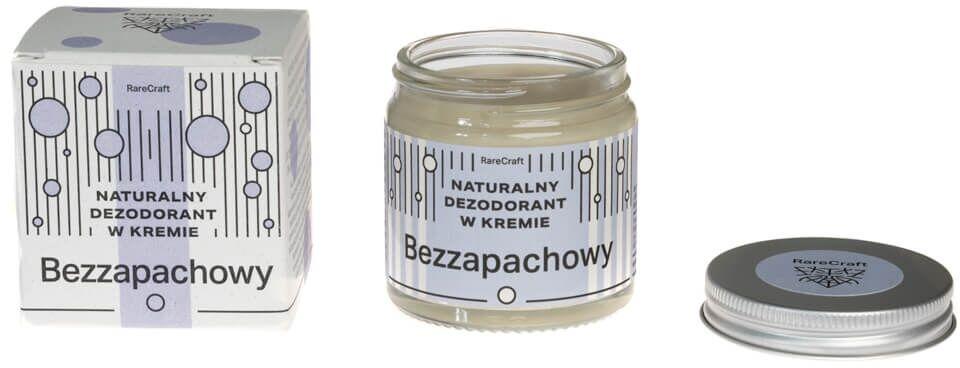 RareCraft dezodorant naturalny bezzapachowy 60 ml