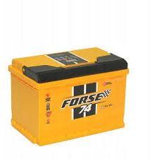 Akumulator FORSE WESTA 74Ah 720A Prawy+ RASZYN