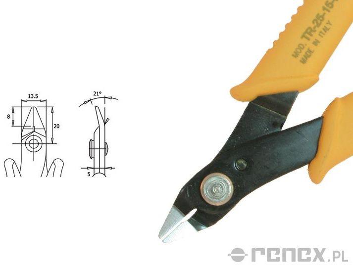 Obcinaczka TR-25-15-L (średnica: 1,30 mm AWG: 16)