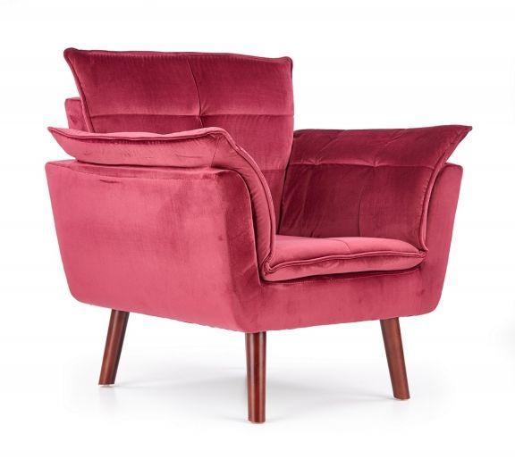 Fotel Rezzo - bordowy
