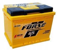 Akumulator FORSE WESTA 65Ah 640A Prawy+ RASZYN