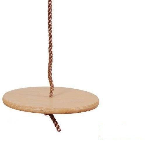 Huśtawka okrągła drewniana