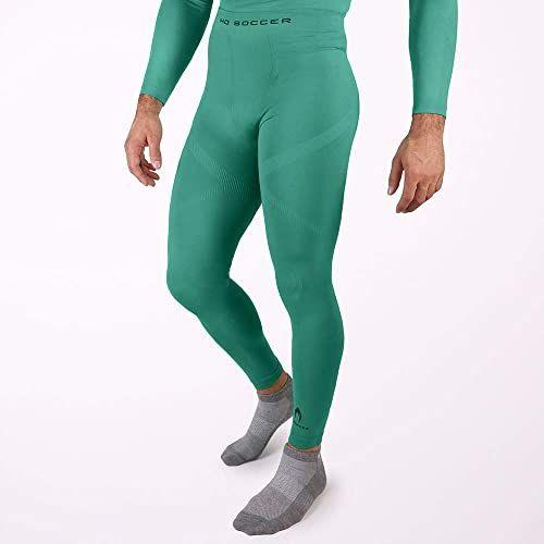 Ho Soccer Underwear Trousers Performance Green rajstopy długie, dla dorosłych, uniseks, zielone, L