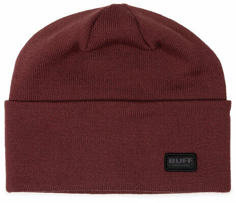 Czapka Knitted Hat Niels 126457.304.10.00 Bordowy