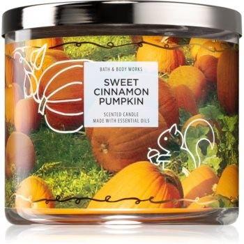 Bath & Body Works Sweet Cinnamon Pumpkin świeczka zapachowa II. 411 g