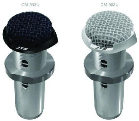 JTS CM-503 - niskoprofilowy mikrofon powierzchniowy / konferencyjny