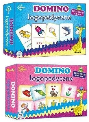 Domino logopedyczne mix ABINO