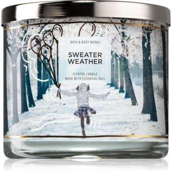 Bath & Body Works Sweater Weather świeczka zapachowa IV. 411 g