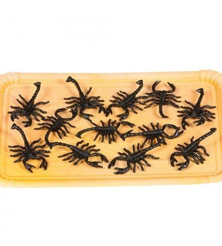 Konfetti sztuczne skorpiony