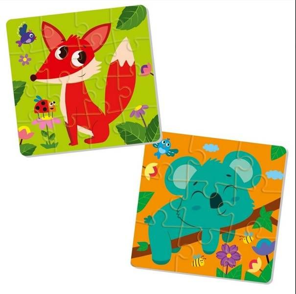 Piankowe puzzle 2w1. The Fuzzies - Roter Kafer