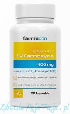 L-Karnozyna 400 mg 30 kap. Farmacon