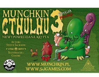 Black Monk Gra Munchkin Cthulhu 3 Niewypowiedzia Krypta 5_736871