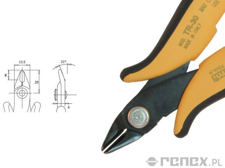Obcinaczka TR-30 (średnica: 1,30 mm AWG: 16)