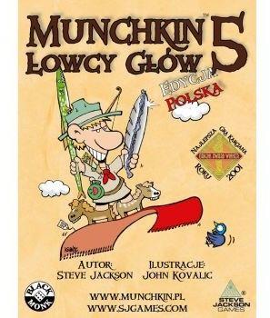 Black Monk Gra Munchkin 5 Łowcy Głów 5_736869