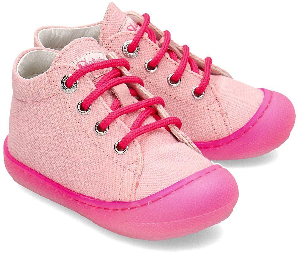 Naturino Cocoon - Trampki Dziecięce - 0012012889.23.1M57 - Różowy