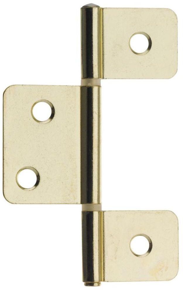 Zawias do drzwi wahadłowych 90 x 33 mm HETTICH