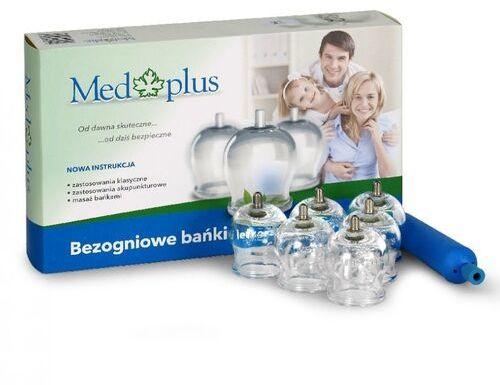 Med Plus - Bańki bezogniowe - 12 szt. + Pompka ergonomiczna