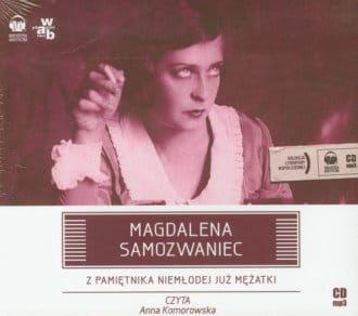 Audiobook - Z pamiętnika niemłodej już mężatki (CD mp3) - Magdalena Samozwaniec