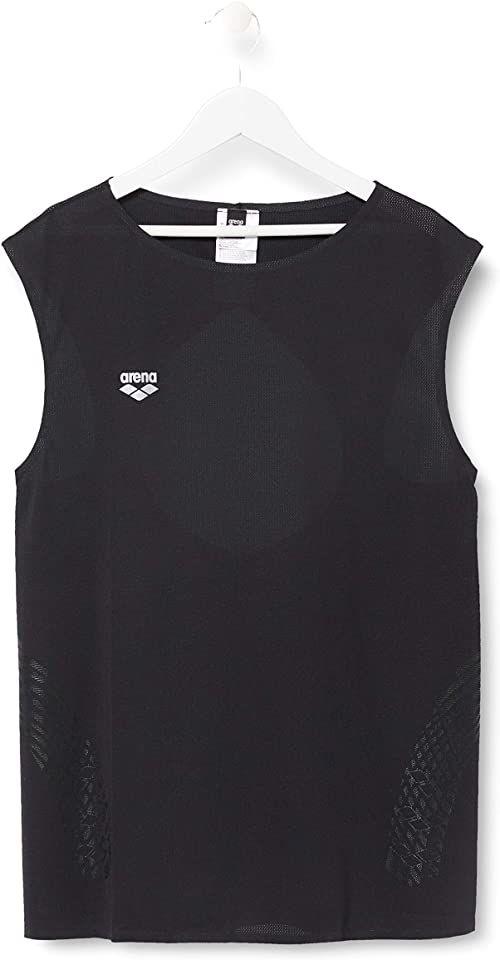 ARENA Arena damska koszulka sportowa bez rękawów czarny czarny S
