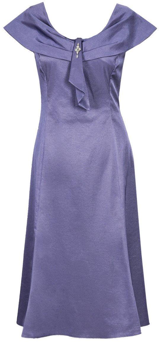 Sukienka FSU192 FIOLETOWY