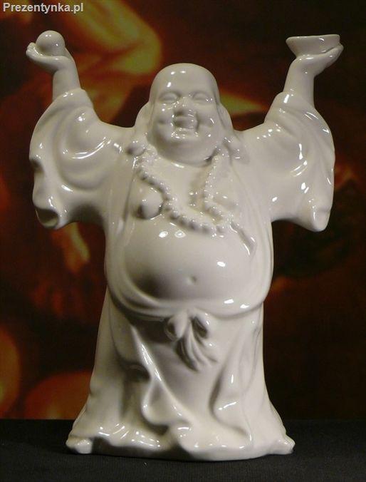 Stojący Budda Porcelana