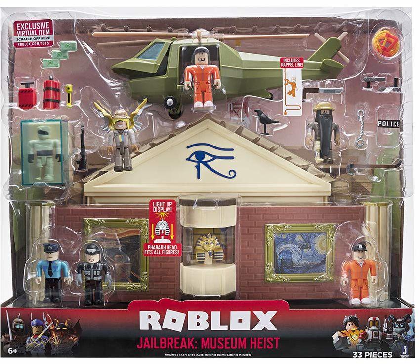 Roblox - Zestaw do Zabawy z Figurkami dla Dzieci, Wielokolorowy, ROB0259