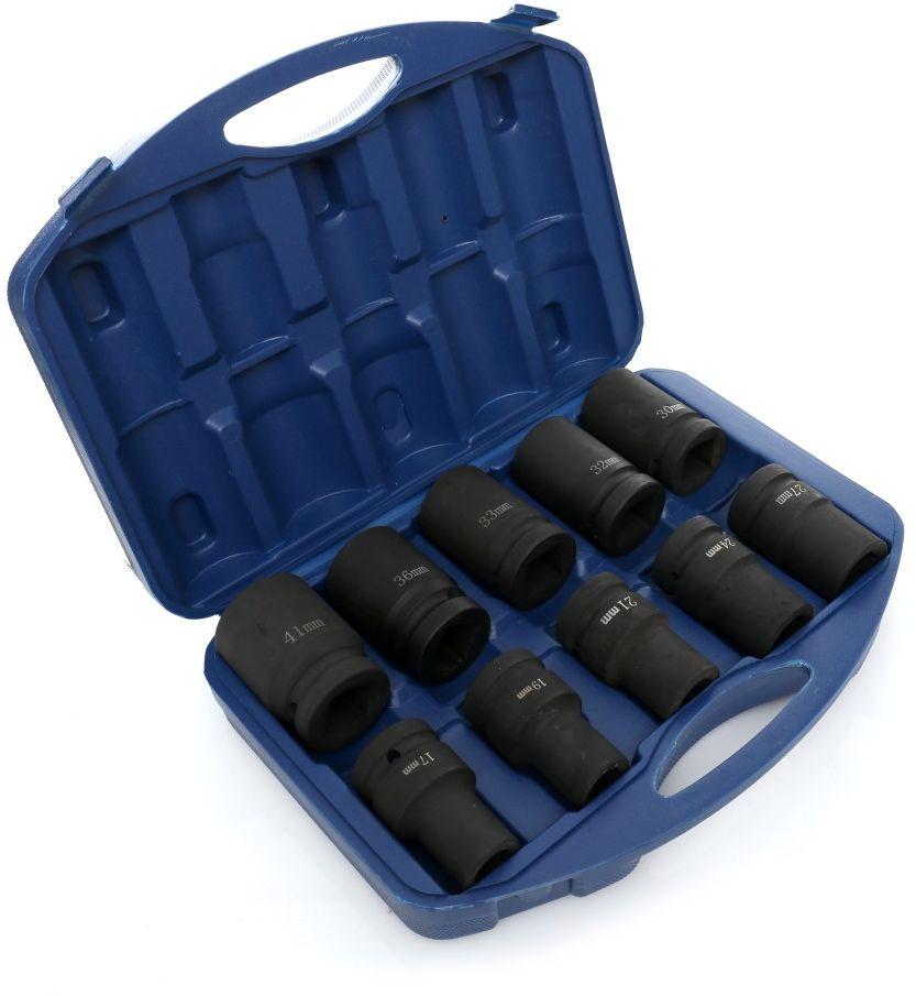 Udarowe klucze nasadowe nasadki 17-41 1'' walizka