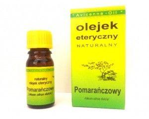 Olejek pomarańczowy eteryczny 7ml AVICENNA