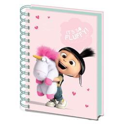 Minionki - notatnik Jednorożec Fluffy