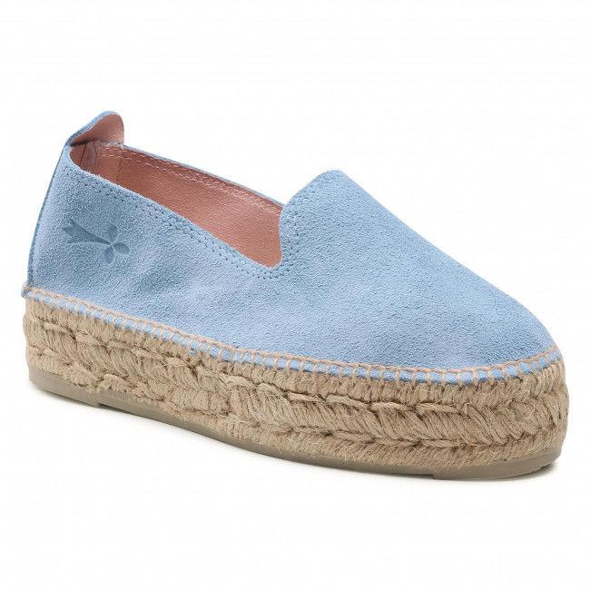 Espadryle MANEBI - Sandals With Bow M 3.0 J0 Placid Blue