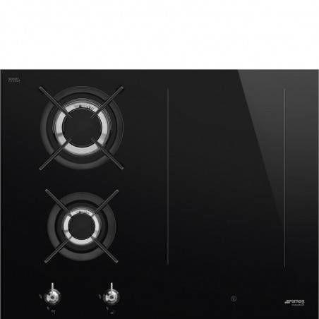 Płyta indukcyjno-gazowa Smeg PM3643D
