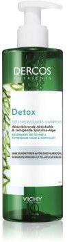 Vichy Dercos Detox oczyszczająco detoksujący szampon do włosów z tendencją do przetłuszczania się 100 ml