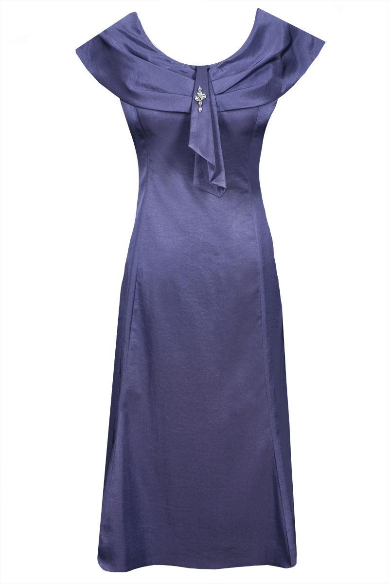 Sukienka FSU192 ŚLIWKOWY