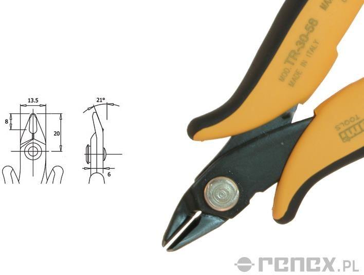 Obcinaczka TR-30-58-R (średnica: 1,63 mm AWG: 14)