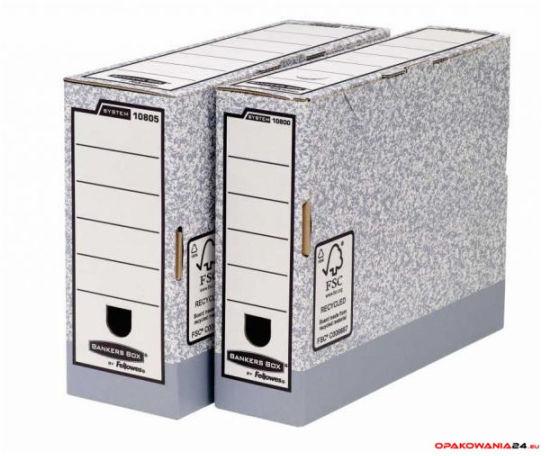 Pudełka na akta 1080001 80mm FELLOWES