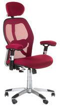 Fotel ergonomiczny CorpoComfort BX-4144 Czerwony