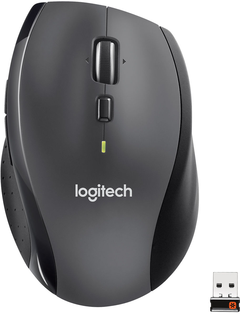 Logitech Marathon M705 myszka Po prawej stronie RF Wireless Optyczny