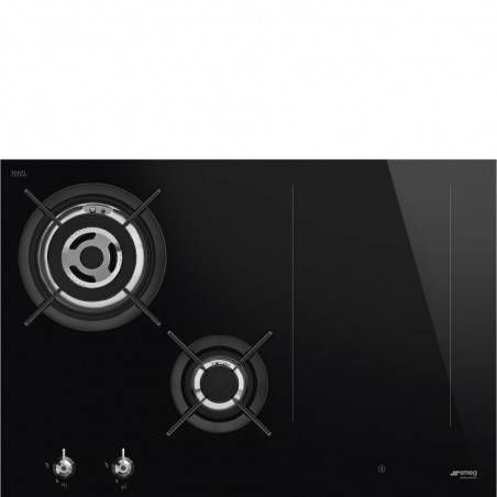 Płyta indukcyjno-gazowa Smeg PM3743D