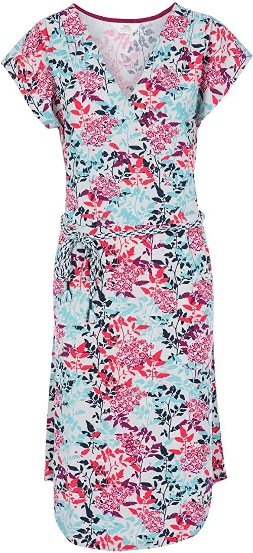 Trespass Damska sukienka Una wielokolorowa Bmr XS