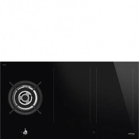 Płyta indukcyjno-gazowa Smeg PM3953D