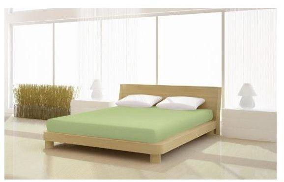 Prześcieradło Jersey Classic 180/200x200 cm kolor zielony