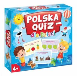 Polska Quiz dla dzieci ZAKŁADKA DO KSIĄŻEK GRATIS DO KAŻDEGO ZAMÓWIENIA