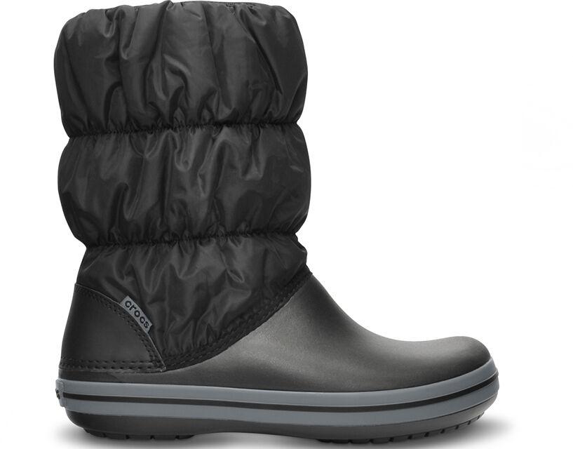 Śniegowce damskie CROCS Winter Puff Boot czarne14614070