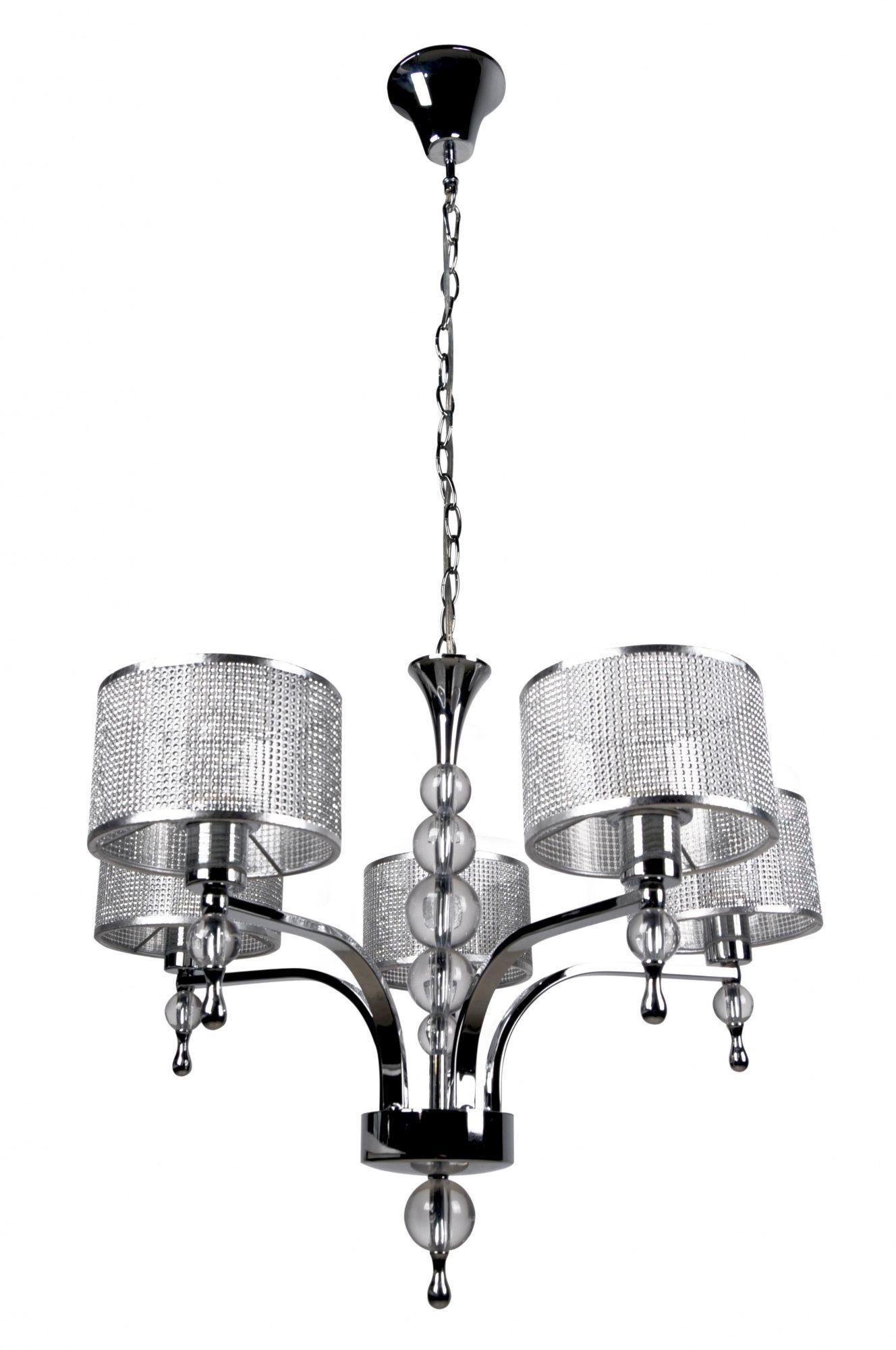 ŻARÓWKI LED GRATIS! Lampa wisząca Jewellery P1550-05A Zuma Line lampa wisząca w stylu kryształowym