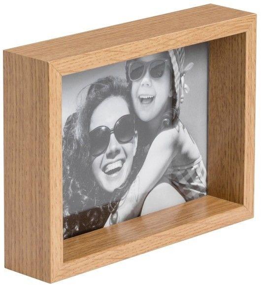 Ramka na zdjęcia Box 13 x 18 cm efekt dębu
