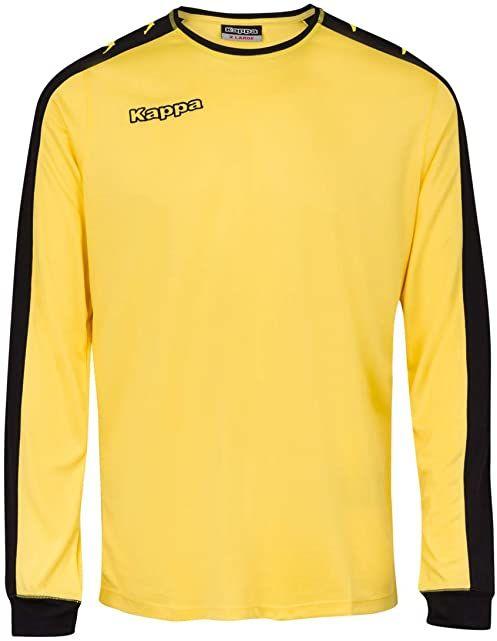 Kappa Tanis SS koszulka piłkarska, uniseks, dla dorosłych XXXL żółta