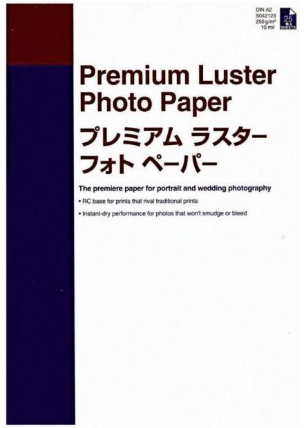 Papier EPSON Premium Luster Photo 260g A2 - 25 arkuszy (C13S042123)